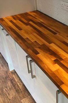 Beautiful Kitchen worktop finihsed with Osmo Top Oil 3058 Matt Project By @horshamtaskerhandyman (IG)