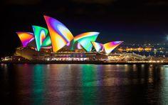 Dal 25 maggio all'11 giugno il Vivid Sydney. Il festival di luci, musica e idee- Il sito
