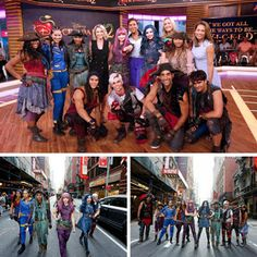 The Cast of Disney Channel's DESCENDANTS 2 Performs Live on GOOD MORNING AMERICA