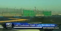 Image result for pictures of FEMA camp and guillotines