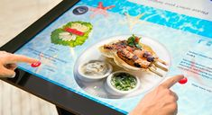 It's time for more interactive tables at restaurants