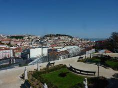 This is a one of the top lookouts and tranquil places to take a break during your visit in Lisbon, Jardim de São Pedro de Alcântara. Take A Break, Lisbon, Paris Skyline, Places, Travel, Garden, Viajes, Destinations, Traveling