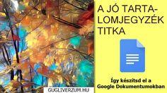 Útmutatók, hasznos tanácsok, tippek-trükkök a Google ingyenes alkalmazásaihoz, szolgáltatásaihoz. Google