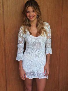 Vestido del Civil de Marcela Kloosterboer by El Camarin