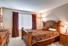 1st Bedroom, Bay Club Condo, Frisco, Colorado, brought to you by Colorado Rocky Mountain Resorts - Vacation Rentals & Property Management.