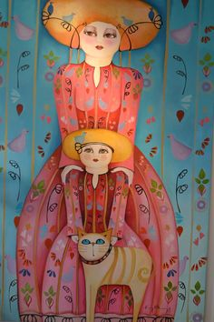 Actitud Creativa KARINA CHAVIN / Circo Golondrina Eye Face Painting, Painting & Drawing, Sketch Inspiration, Doodle Sketch, Naive Art, Cat Drawing, Simple Art, Cat Art, Mixed Media Art