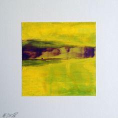 #311 | square abstract painting (original) | acrylic on white board | size 9 cm x 9 cm | boardsize 15 cm x 15 cm | https://www.etsy.com/shop/quadrART