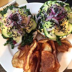 Le bagel végétarien de Carrie Solomon - une recette Américain - Cuisine | Le Figaro Madame