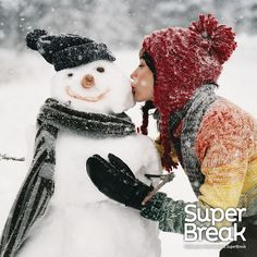 Being able to make a snowman would make our Christmas day a Super one! Let us know what would make your Christmas a Super one for your chance to win £100 SuperBreak voucher - find out more on our #SuperBreakElf Pinterest board! #Competition #Win #Christmas #Giveaway #Prizedraw