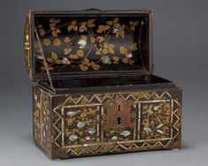 Chest Treasure Boxes, Casket, Tortoise Shell, Civilization, Cabinets, Decorative Boxes, Museum, Asian, Japanese