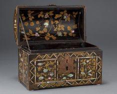Chest Treasure Boxes, Casket, Tortoise Shell, Civilization, Cabinets, Decorative Boxes, Museum, Asian, Japanese