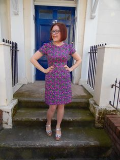 Chateau Rouge dress - Tilly and the Buttons Megan dress
