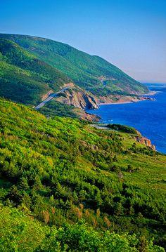 Cabot Trail, Cape Breton Island ~ Nova Scotia, Canada°°
