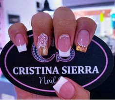 Best Acrylic Nails, Beauty Spa, Nail Decorations, Omelet, Short Nails, Love Nails, Nail Arts, Manicure And Pedicure, Natural Nails
