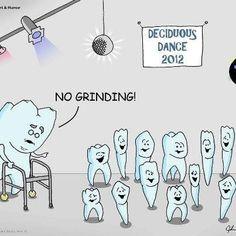Dirty teeth. This is hysterical! Dental humor!