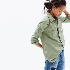 hint, hint – this Madewell cargo workshirt is on my wishlist (+ winning a trip for two to Paris from Madewell). more info here: http://mwell.co/giftwellsweeps #giftwell #sweeps