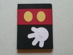 Simple Mickey Mouse card idea. (Cindy's Creative Blog)