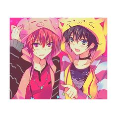 Anime Boys ❤ liked on Polyvore featuring anime