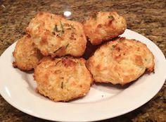 Rosemary Garlic Parmesan biscuits