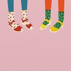 Lotta Clogs Illustration by Betsy Petersen. Feet walking all around edges of poster. Art And Illustration, Pattern Illustration, Graphic Design Illustration, Graphic Art, Technical Illustration, Art Plastique, Collages, Illustrators, Design Art
