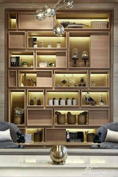 11 Splendid DIY Display Cases Design to Make A Cozy Room However, exactly how are you going to show honor medals, trophies, and even pins? Here are some DIY display cases that you could use. Shelf Design, Cabinet Design, Storage Design, Display Design, Design Design, Design Ideas, Living Room Display Cabinet, Muebles Living, Diy Casa