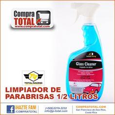 LIMPIADOR DE PARABRISAS 1/2 LITROS #CompraTotal - #TotalRacing
