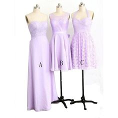 lilac bridesmaid dresses, lace bridesmaid dress, cheap bridesmaid dress, mismatched bridesmaid dresses, custom length bridesmaid dress, E158 · lovebridal · Online Store Powered by Storenvy Purple Lace Bridesmaid Dresses, Lace Bridesmaids, Junior Bridesmaid Dresses, Homecoming Dresses, Wedding Dress, Cheap Evening Dresses, Decoration, Chic, Shopping