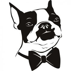 boston terrier silhouette clipart free clip art images bt rh pinterest com boston terrier clipart for the 4th of july boston terrier clip art images