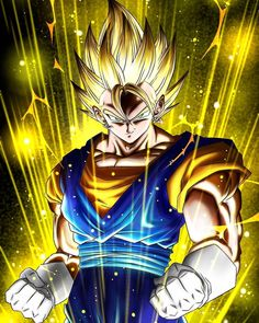 Dragon Ball Z, 7th Dragon, Majin, Gogeta And Vegito, Z Wallpaper, Dbz Characters, Japanese Anime Series, Dope Wallpapers, Comic Pictures