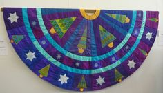 Christmas tree skirt by Sarah Vedeler, Saint Marie aux Mines 2012, photo by lisabrod