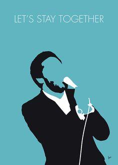 Digital Art - My Al Green Minimal Music Poster by Chungkong Art , Minimalist Music, Minimalist Poster, Al Green, Techno, Let's Stay Together, Music Studio Room, Music Illustration, Illustrations, Pop Rock