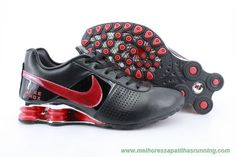 OZ-007 Nike Shox OZ-D Preto/Vermelho Masculino