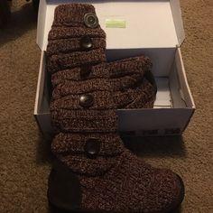 Muk Luk Slouch Boots New with box Muk Luk Shoes Winter & Rain Boots