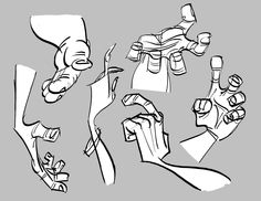"""giancarlovolpe: """" americanninjax: """" anatoref: """" Cartoon Hands Reference Top Image Row by Milt Kahl Row by Les Clark Row 4 Bottom Image Row 5 Row 6 """" Rad """" Hands Christian Handerson """" Hand Drawing Reference, Gesture Drawing, Animation Reference, Anatomy Drawing, Anatomy Reference, Drawing Poses, Pose Reference, Drawing Tips, Character Design Cartoon"""