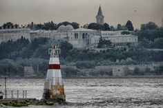Topkapi palace from other side - Uskudar, Istanbul
