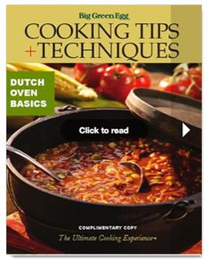 cooking tips and techniques of Dutch Oven cooking
