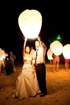 2 Wedding Sky Lanterns by WeddingSuppliersRUs on Etsy, $8.99