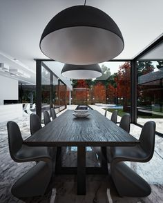 Dining Room Organic Interior Design By STUDIO.O.