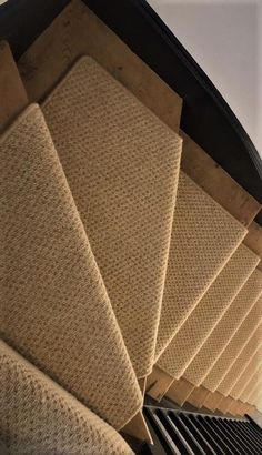 Axminster Carpets, Natural Weave, Painted Stairs, Carpet Stairs, Carpet Design, Staircases, Carpet Runner, Decoration, Service Design
