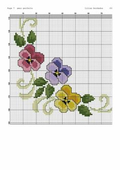 1 million+ Stunning Free Images to Use Anywhere Cross Stitch Boarders, Cross Stitch Flowers, Cross Stitch Designs, Cross Stitching, Cross Stitch Embroidery, Cross Stitch Patterns, Lavender Bags, Free To Use Images, Flower Coloring Pages