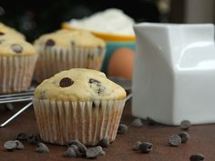 Chocolate Chip Yogurt Muffins