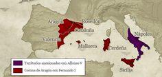 La corona aragonesa bajo el reinado de Alfonso V