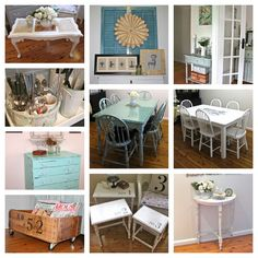 #10 DIY:: Frugal Farmhouse Decor Projects ! (Each has it's own Tutorial, Including the Two Farmhouse Tables!)