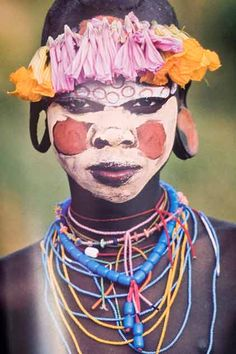 Lloyd's Blog: Natural Fashion: Tribal Decoration From Africa/Suma and Mursi Tribes of the Ono Valley