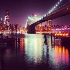 Brooklyn Bridge - from when we got engaged in NYC Brooklyn Bridge, Berlin, Nyc, New York, Holidays, City, Travel, New York City, Holidays Events