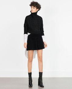A-LINE SKIRT-Mini-Skirts-WOMAN-SALE   ZARA United States