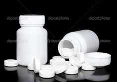depositphotos_6596493-White-medicine-bottle-color-pills-on-black-..jpg (1023×722)