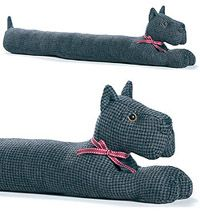 Scottie Draught Excluder