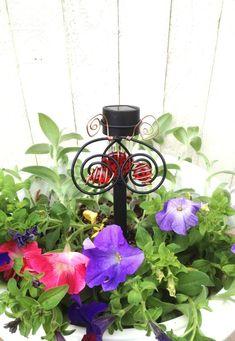 Ladybug Solar Light Stake Outdoor Decorative Garden Lighting Patio Decoration