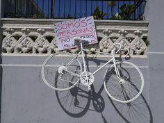 Roban bicicleta que donaron en recuerdo de ciclistas muertos